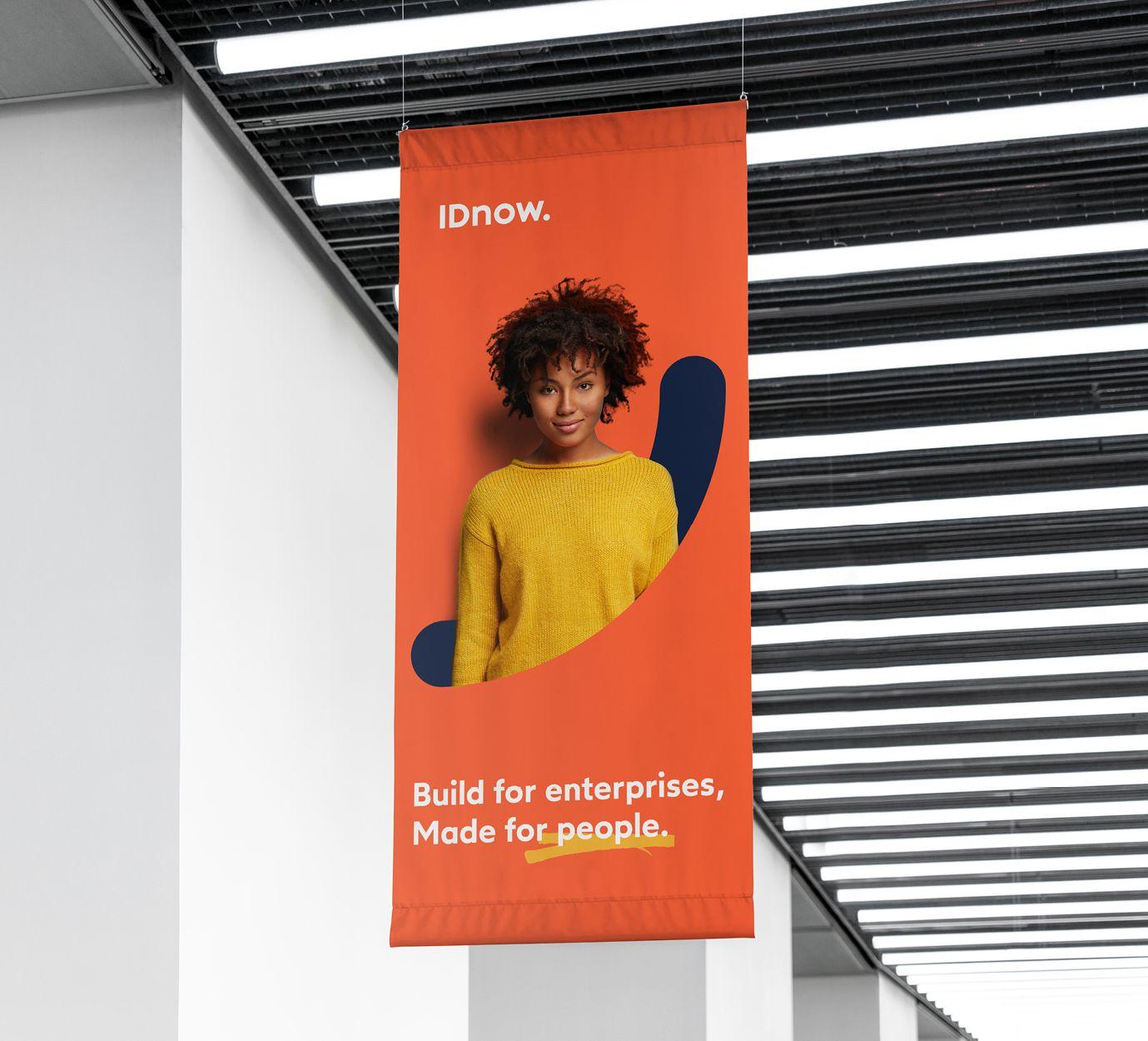 IDnow banner