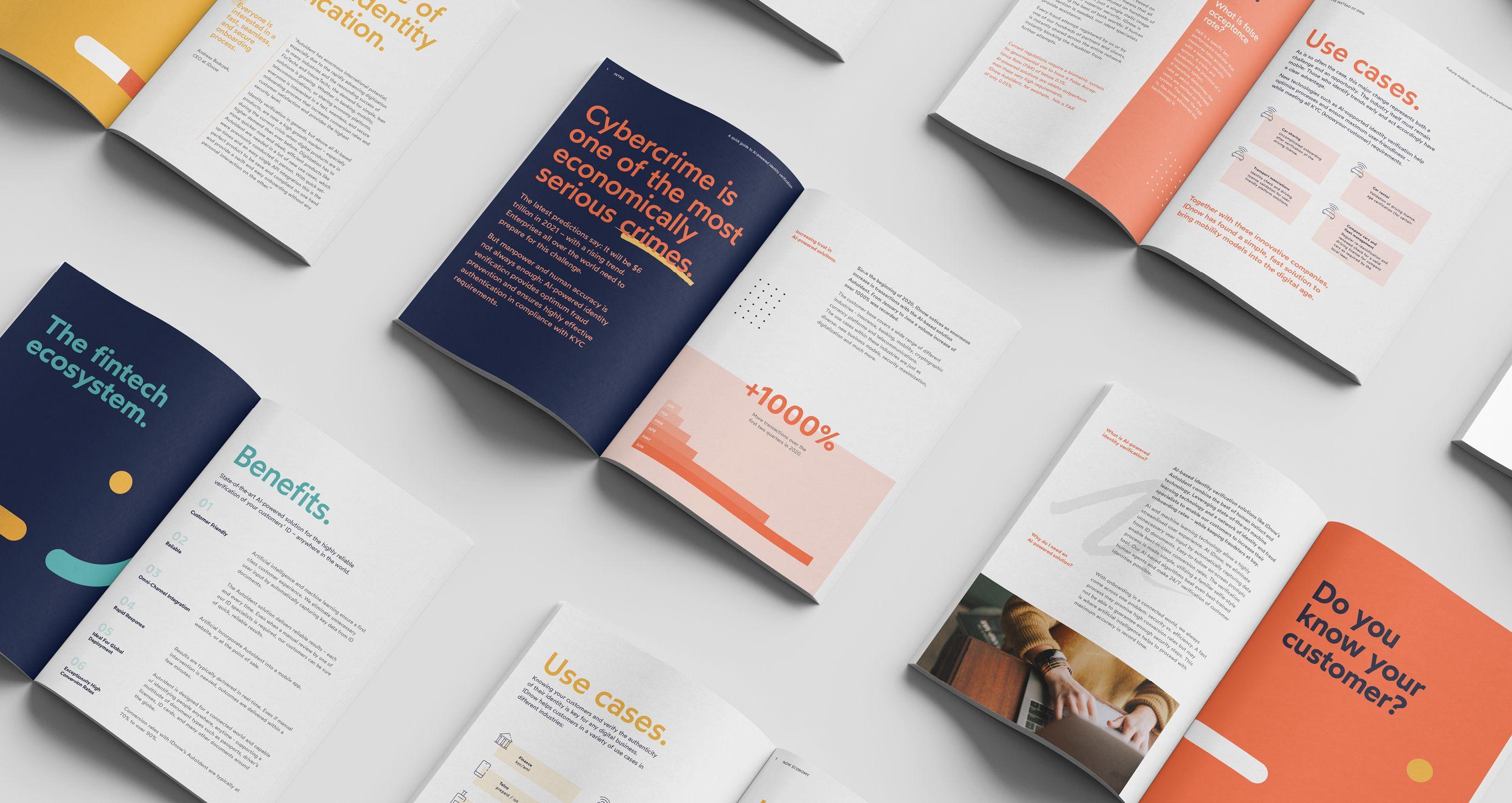 IDnow brochures