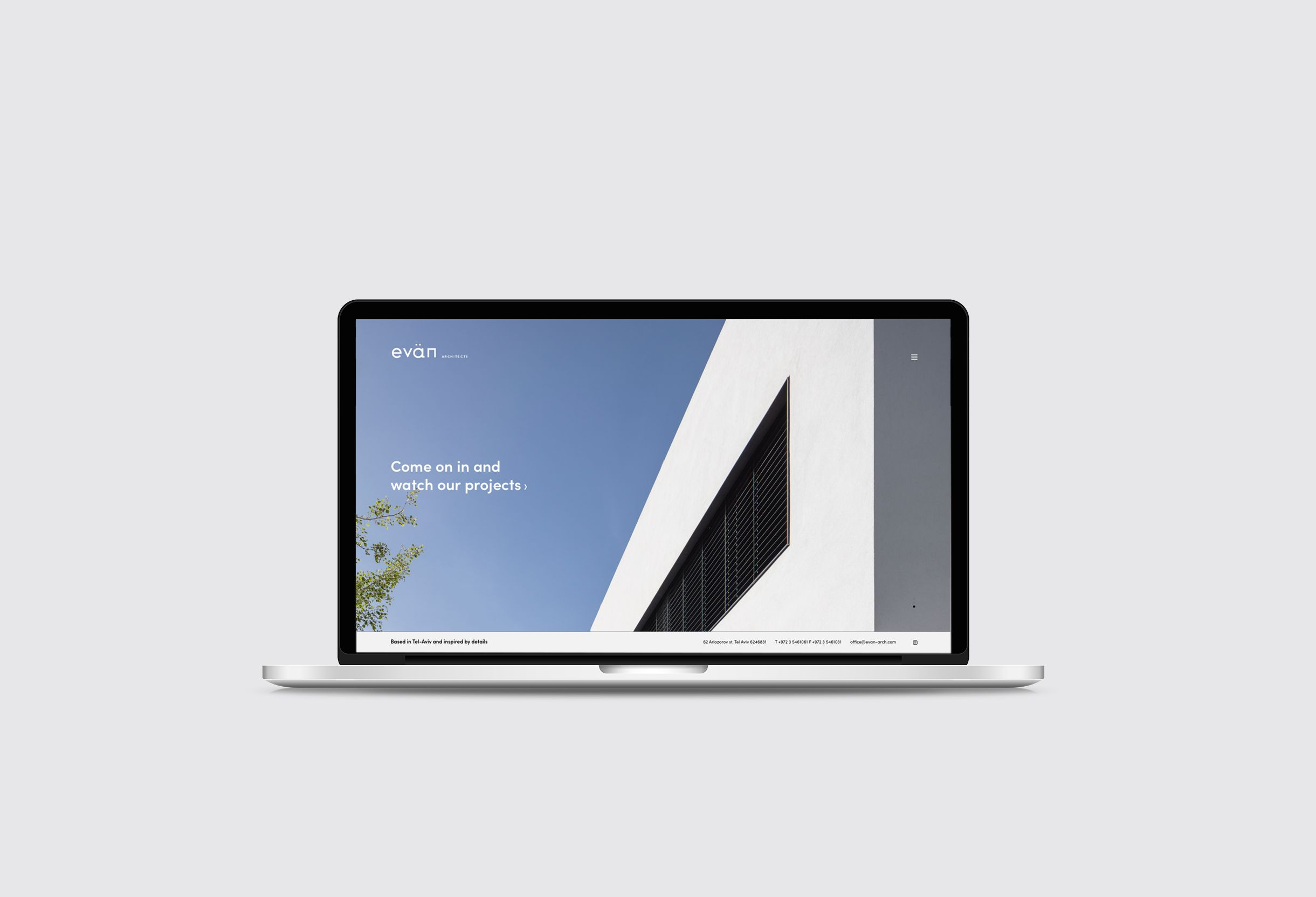 Evän Architects website