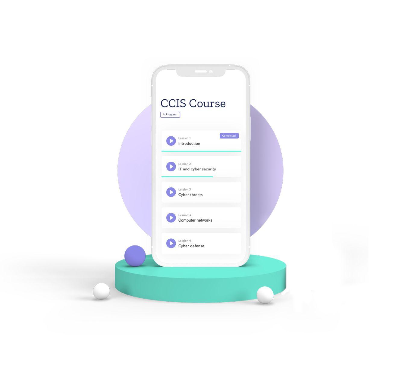 Cyber Insurance Academy mobile website
