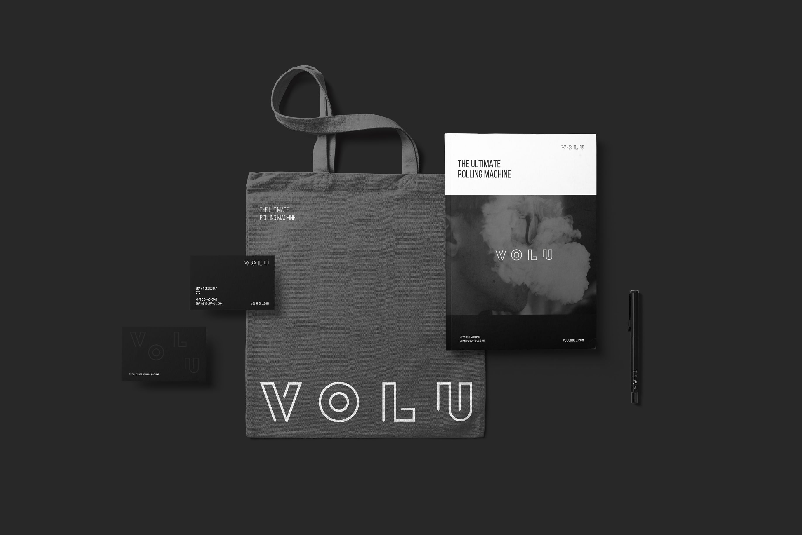 Volu branding collateral