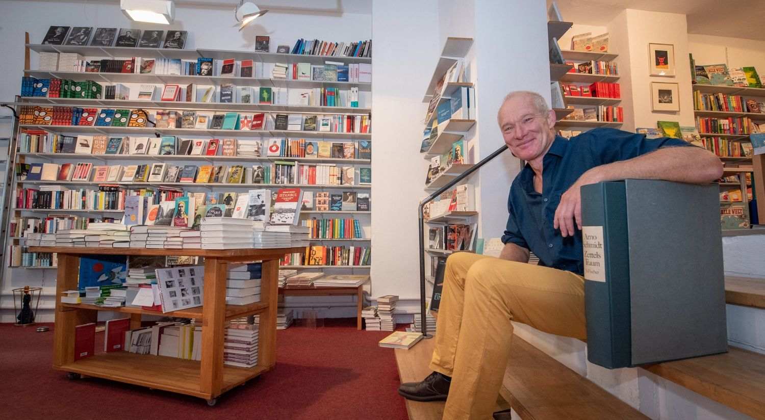 Our bookstore buddy Holger Schwab — Norway Guest of Honour ...