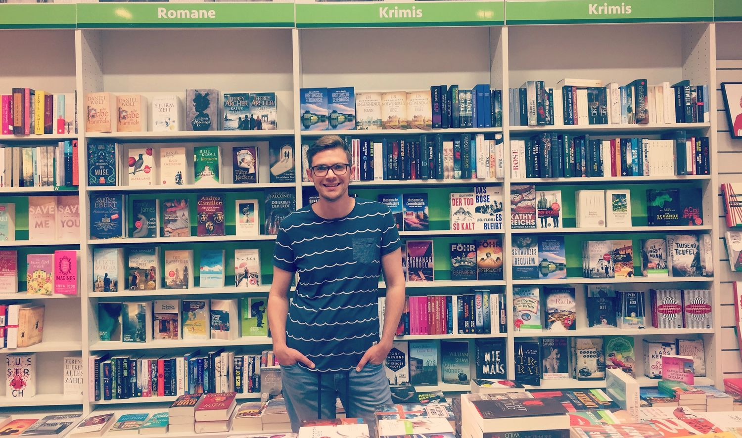 Our bookstore buddy Florian Valerius — Norway Guest of Honour ...