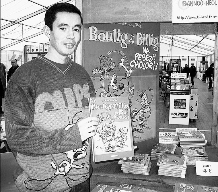 Boule & Bill parlent couramment le breton