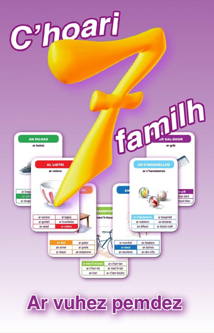 Jeu de 7 familles - La vie quotidienne