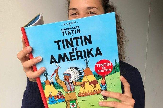 Tintin parle à nouveau breton !