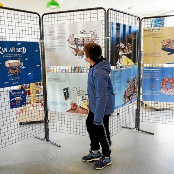Une exposition à la bibliothèque de Plouédern fête la Bretagne