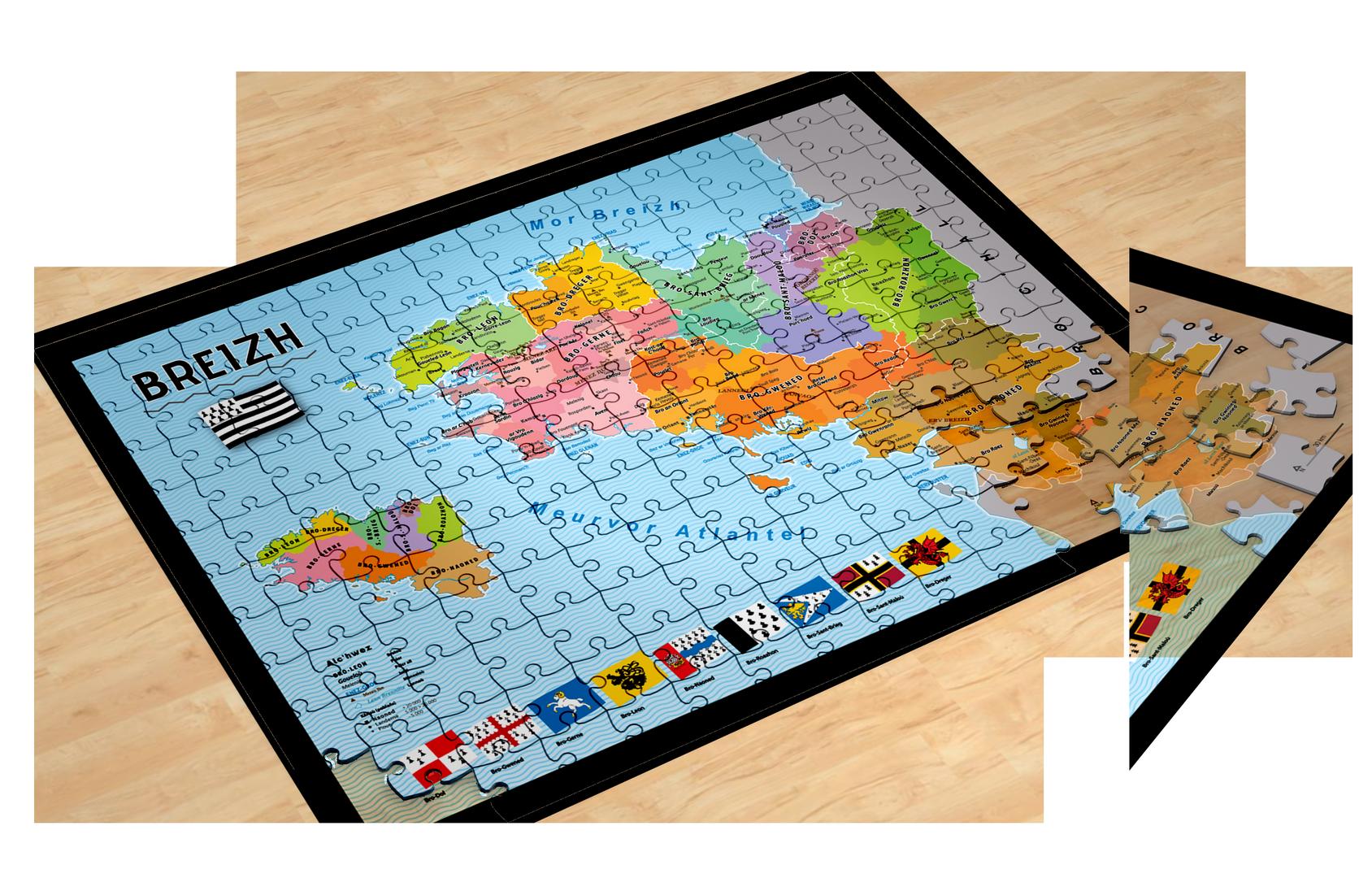 Puzzle Breizh (500 pièces)