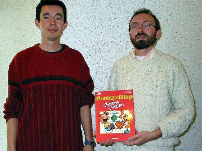Les aventures de Boule & Bill en breton - Bannoù-heol édite la célèbre BD de Roba