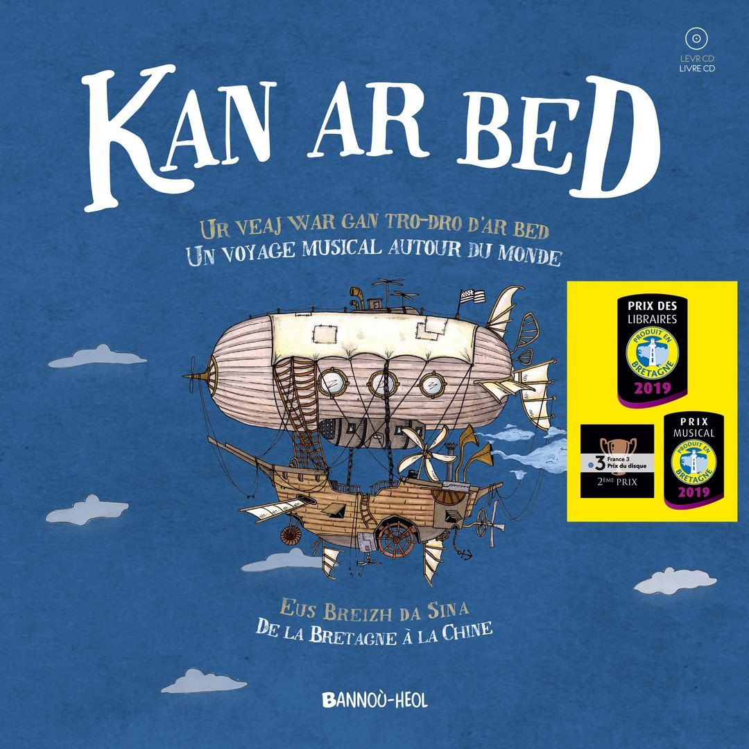 Kan ar Bed - Levr-CD