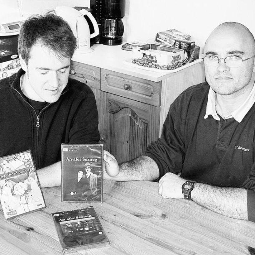 DVD-où brezhonek nevez embannet gant Dizale - Brezhoneg e genou Guillaume Sezneg