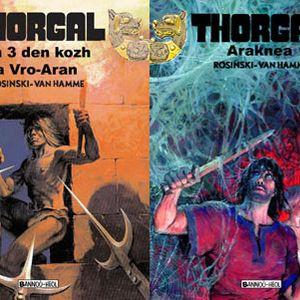Deux tomes de Kosinski et Van Hamme en breton - Thorgal, héros des ados bretonnants