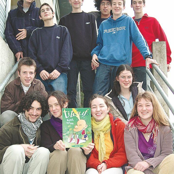Titeuf parle breton : La BD traduite par des élèves Diwan
