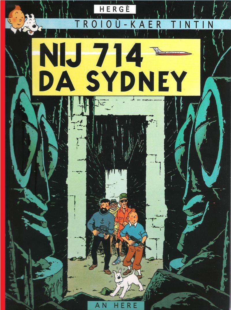Vol 714 pour Sydney, Tintin en breton — Bannoù-heol