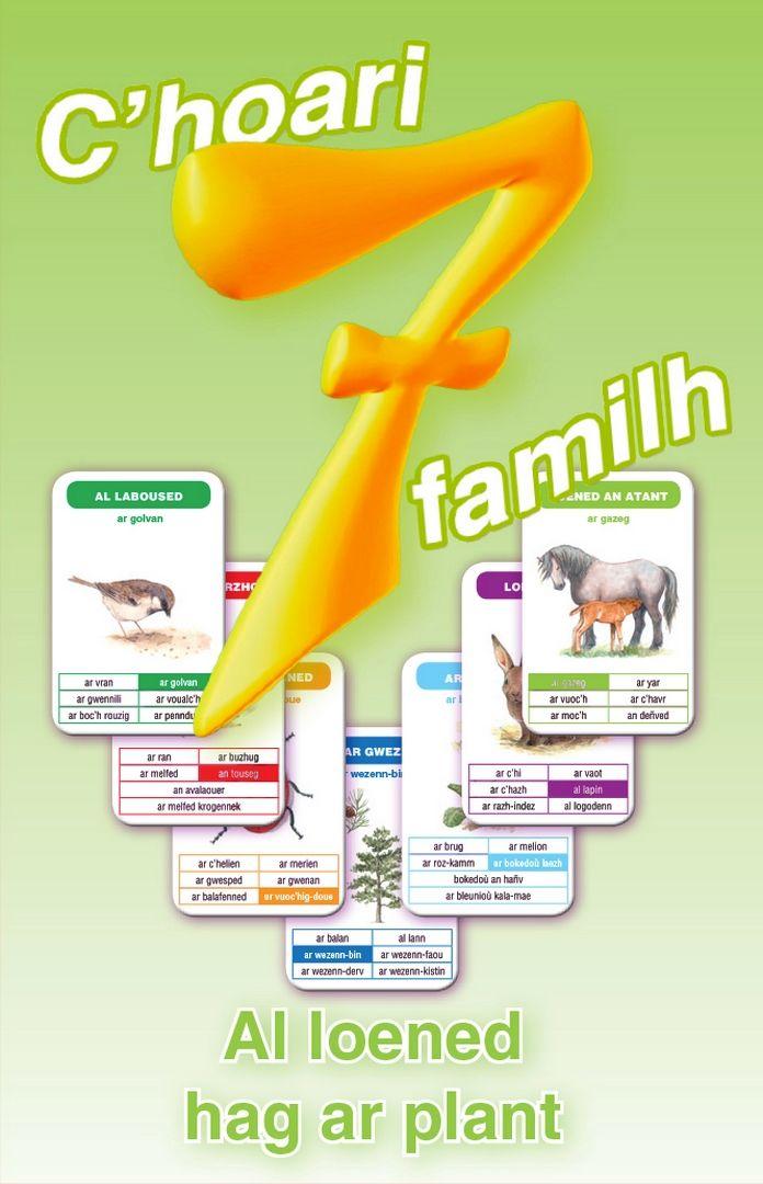 Jeu de 7 familles - Les animaux et les plantes