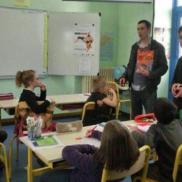 Classe bilingue : une traduction de Petit Ours Brun