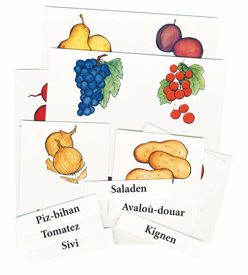 Loto et mémory - Les fruits et légumes