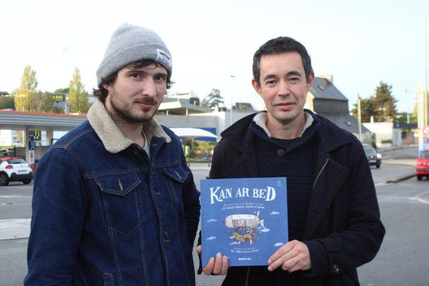 Finistère. Quimper : La maison d'édition Bannoù-heol sort le livre-CD Kan ar Bed