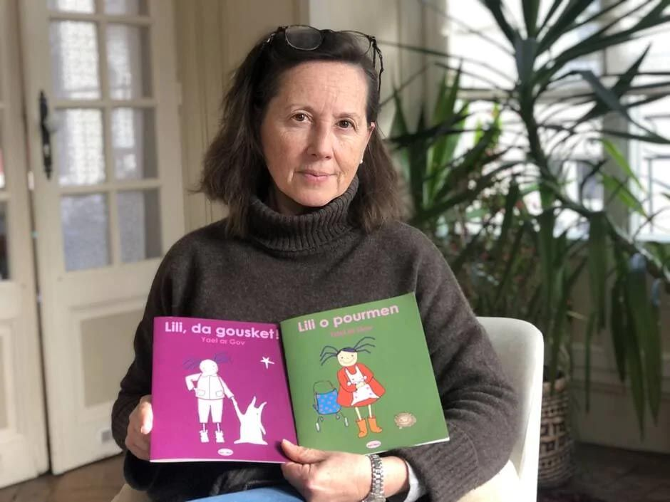 Elle imagine des albums en breton pour les tout-petits
