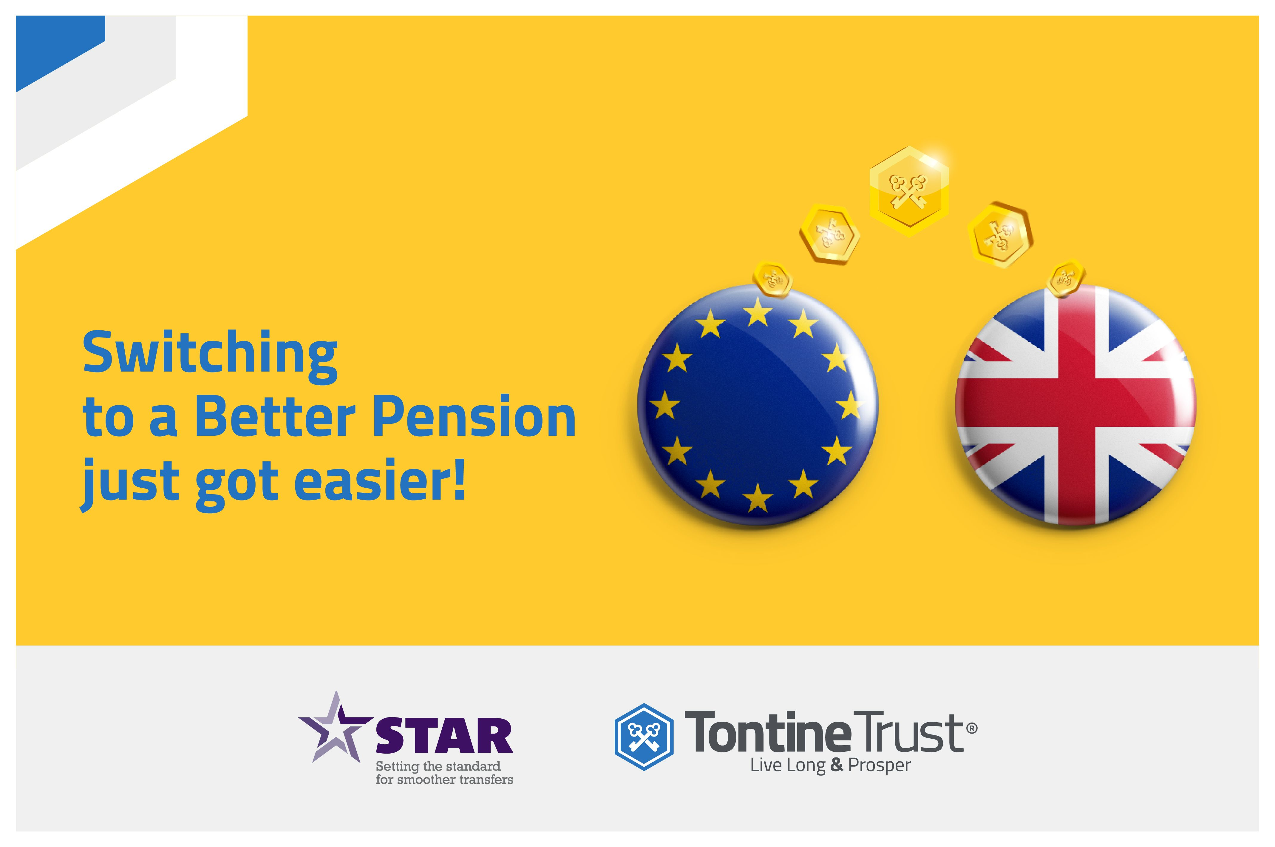 Pan-European pensions and CDC platform TontineTrust joins the STAR Transfers & Re-Registration Initiative