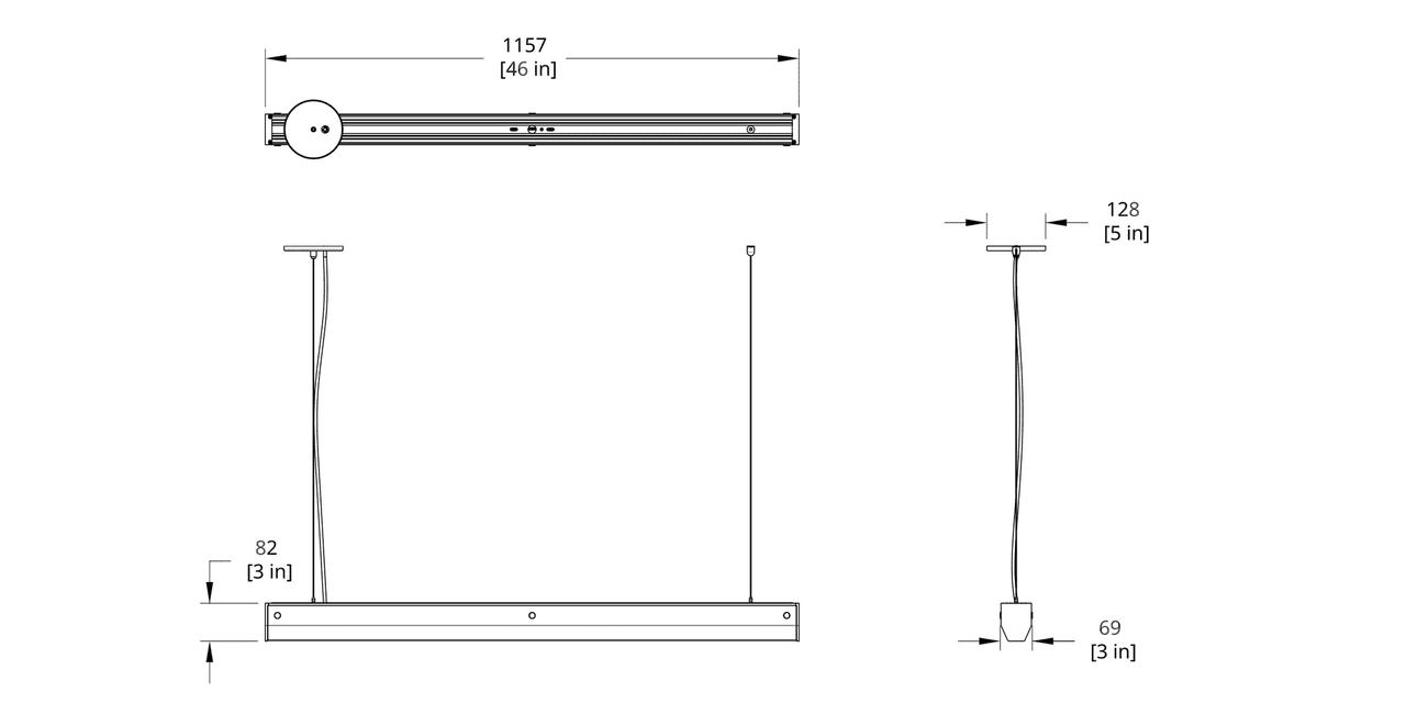 BREP-L Branch Pendant Large Dimension