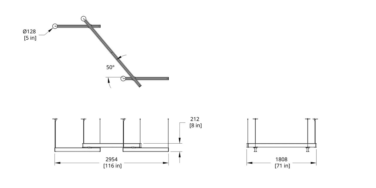 LS3-484 Latis Zig Zag 4-8-4 (Style 50) Dimension