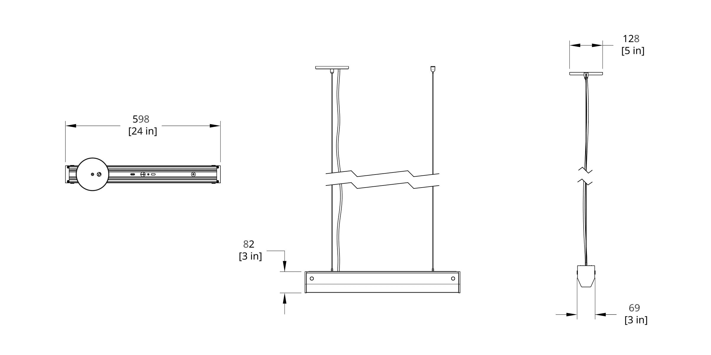 PREP-M Branch Pendant Medium Dimension