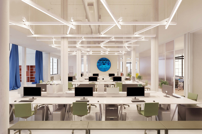 Virtual Office — Created by Tom Hancocks Latis Custom Chevron, matte white