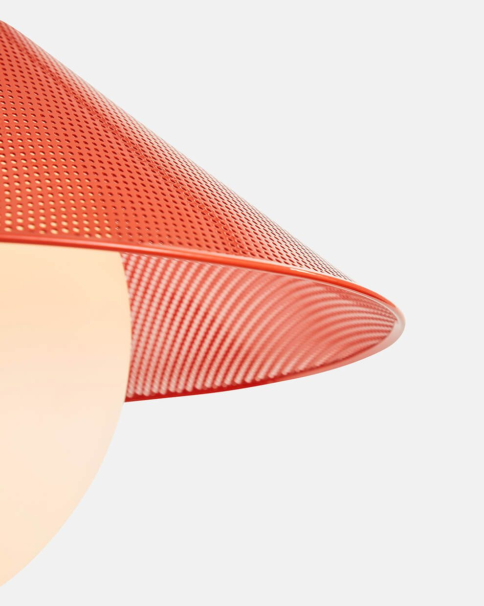 RBW akoya pendant perforated shade detail