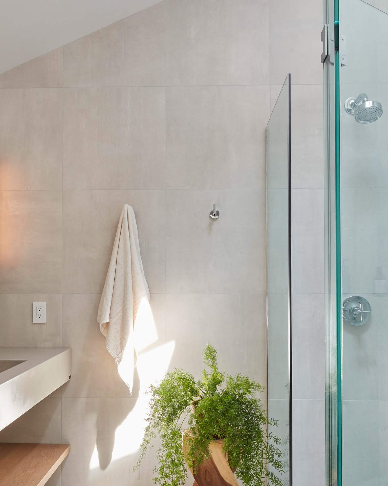 RBW Branch Sconce in a residential bathroom interior design project