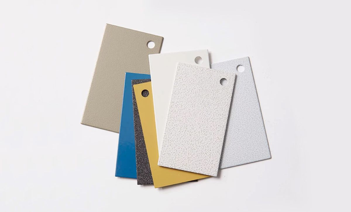 RBW Sample Finishes Delivered to You Next Day