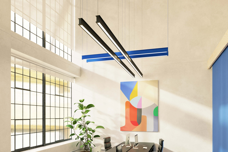 Virtual Office — Created by Tom Hancocks    Latis Custom Cross, anodized black & anodized blue