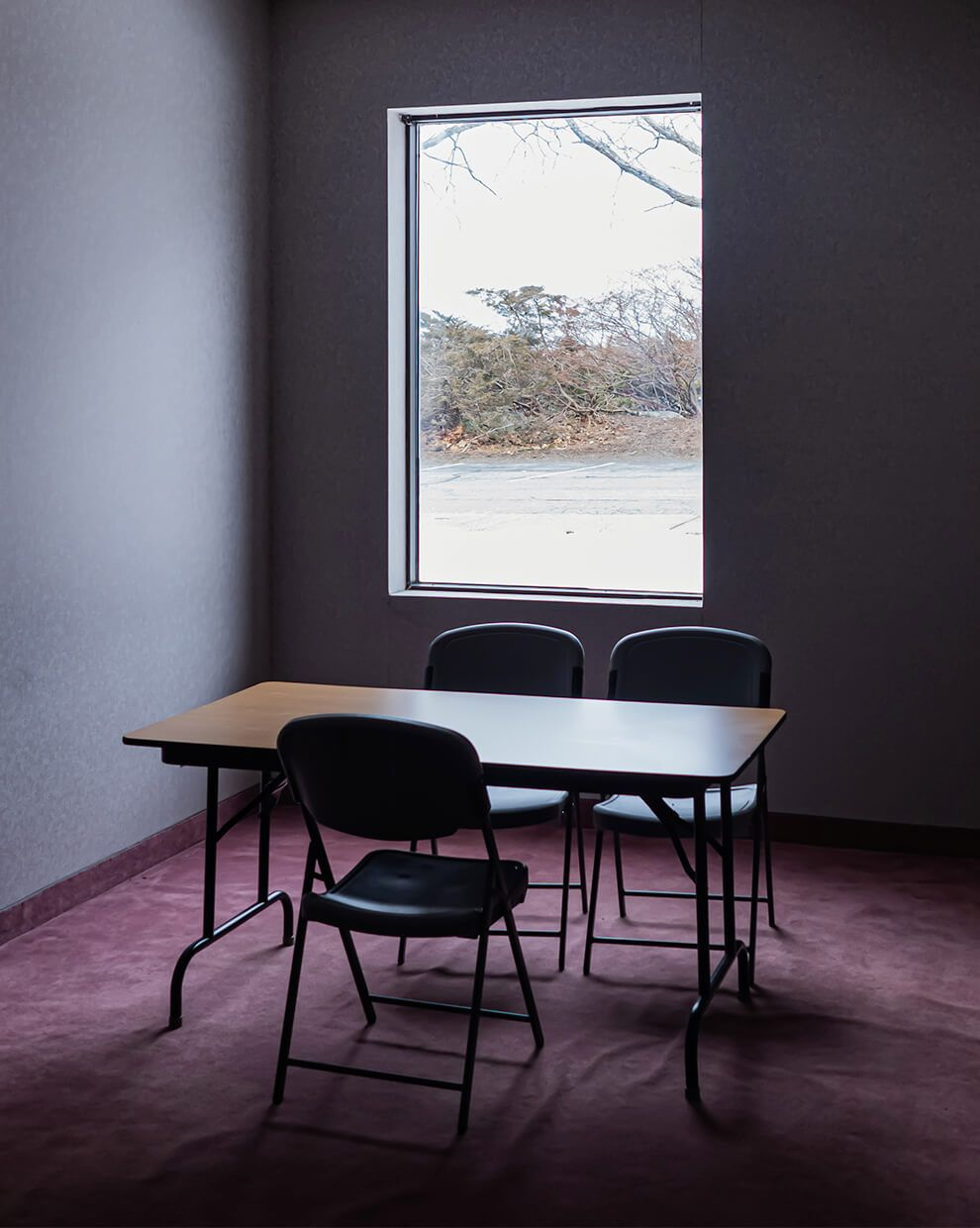 A meeting room left untouched for 20 years