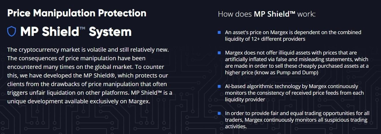 Margex Price Manipulation