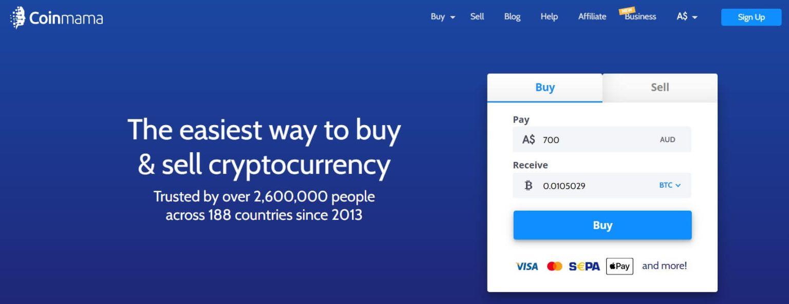 coinmama website