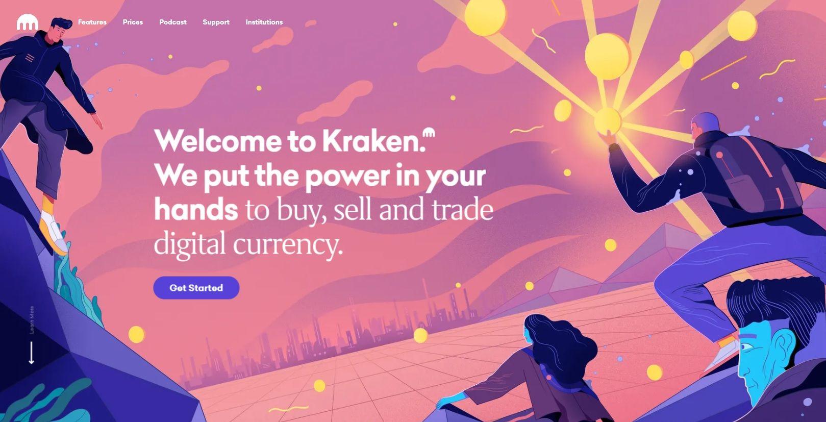 kraken website
