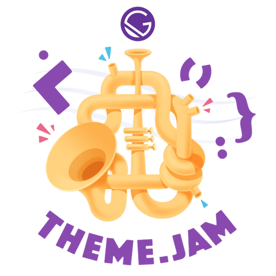 A brass instrument with lots of twists and turns.