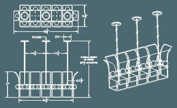 PALM PENDANT LONG DIAGRAM