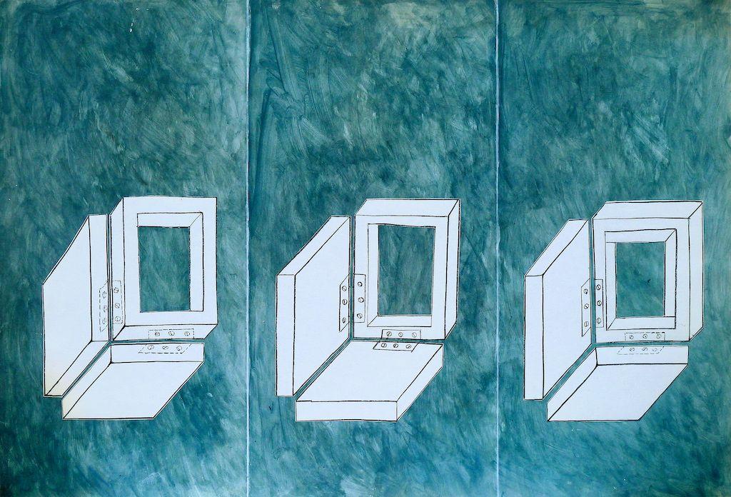 pittura anni 70-71