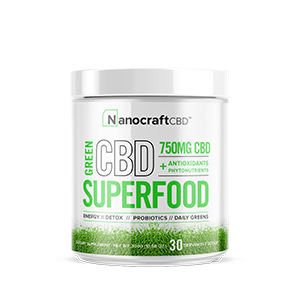 cbd superfood green powder