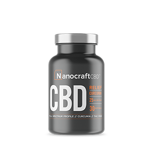 nanocraft cbd tm broad spectrum cbd oil softgel capsules with curcumin