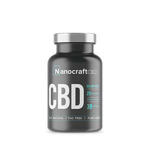 nanocraft cbd tm broad spectrum cbd oil softgel capsules