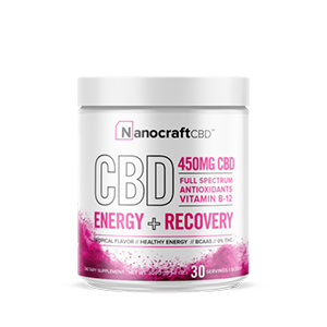 broad spectrum cbd energy recovery powder