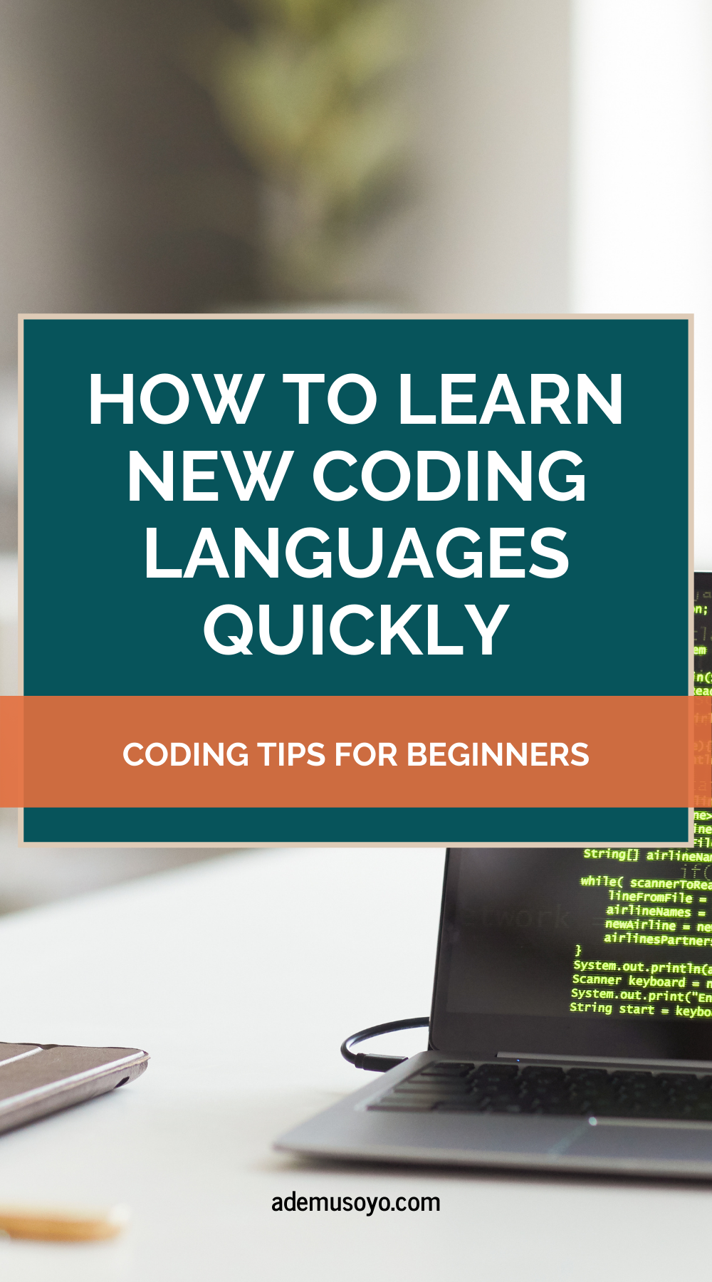 How to learn new coding languages quickly