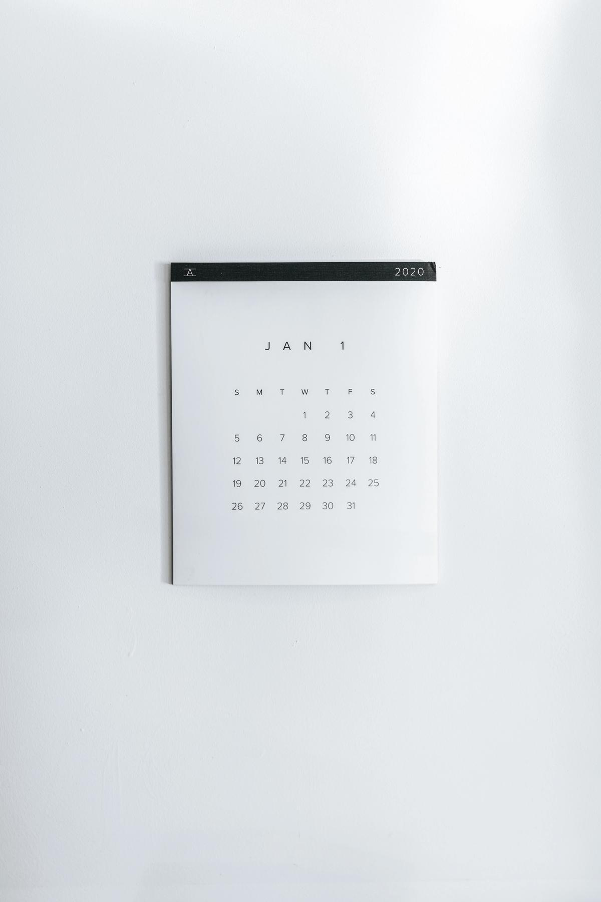 Editorial Calendar Main Image