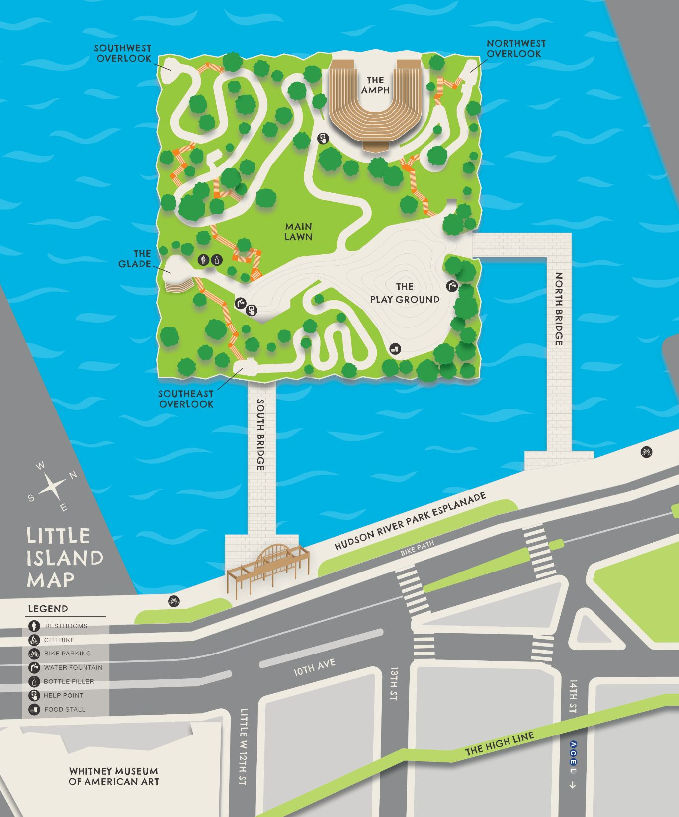 Map of Little Island