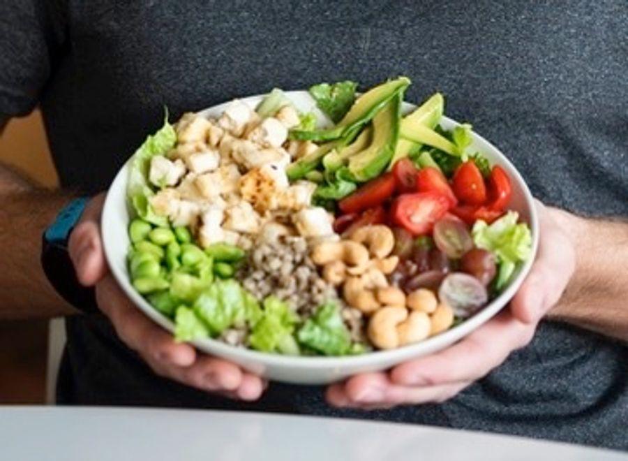 Grænkera salat Sigurjóns Ernis