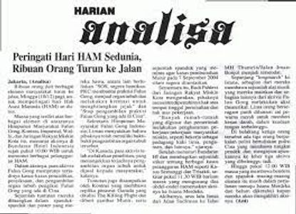 Koran Analisa