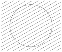Geometry before trimming. Select the lines first and then the circle