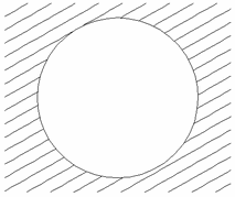 Trimmed vectors using Clear inside boundary
